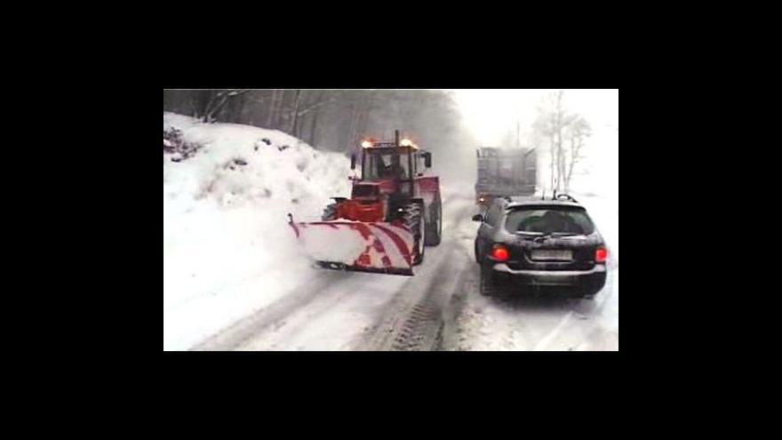 Video Evropa se potýká se sněhem a mrazem