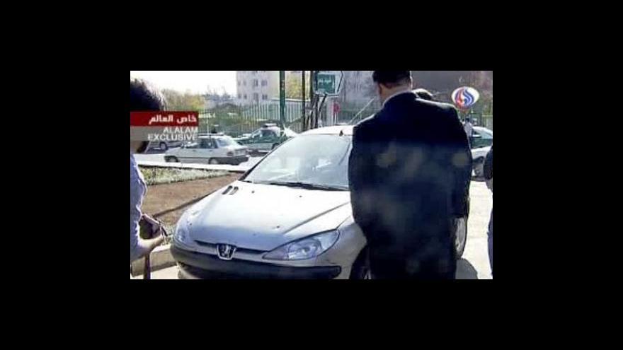 Video Atentát na íránské jaderné fyziky