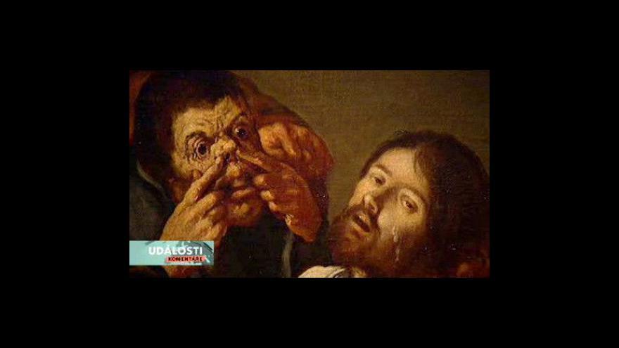 Video Výstava Karla Škréty tématem Událostí, komentářů