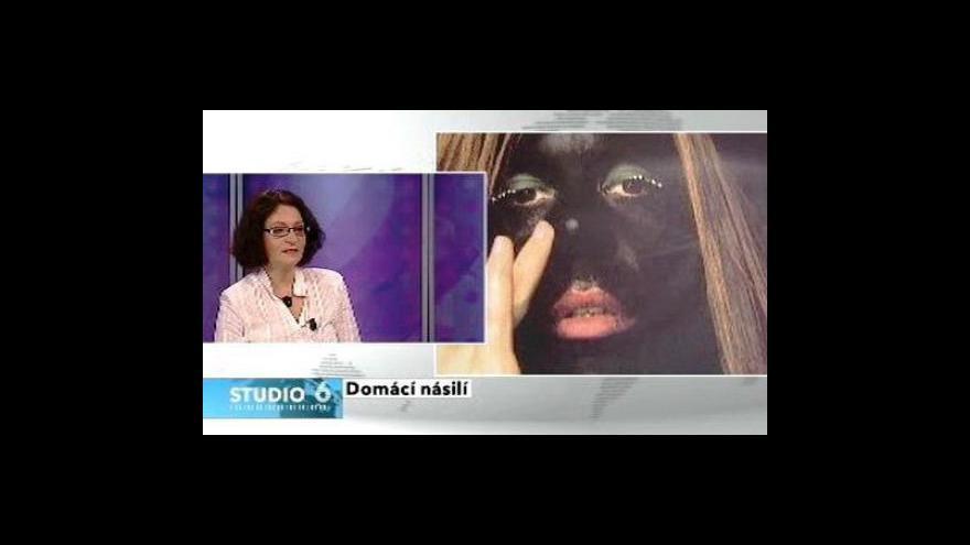 Video Zdeňka Bednářová ve Studiu 6 ČT24