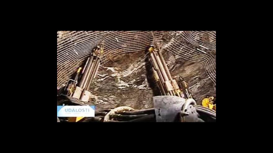 Video V dole znovu explodoval důlní plyn
