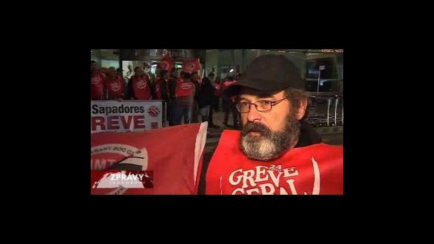 Video Potugalsko stávkuje