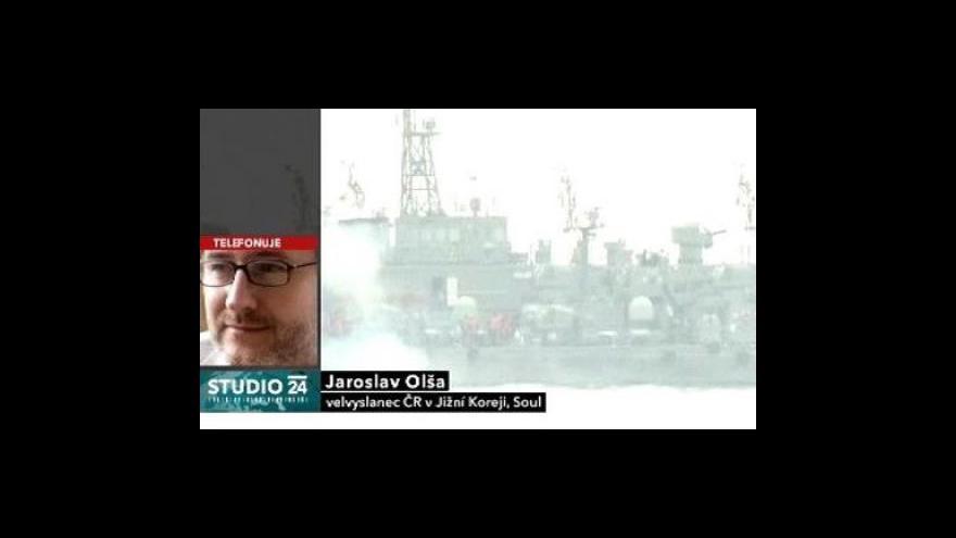 Video Studio ČT24: Konflikt na Korejském poloostrově
