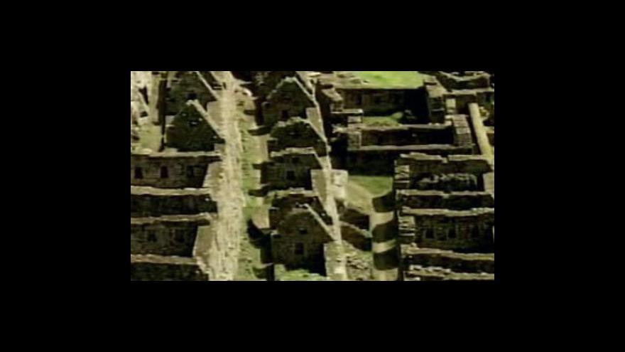 Video USA vrátí Peru památky z Machu Picchu