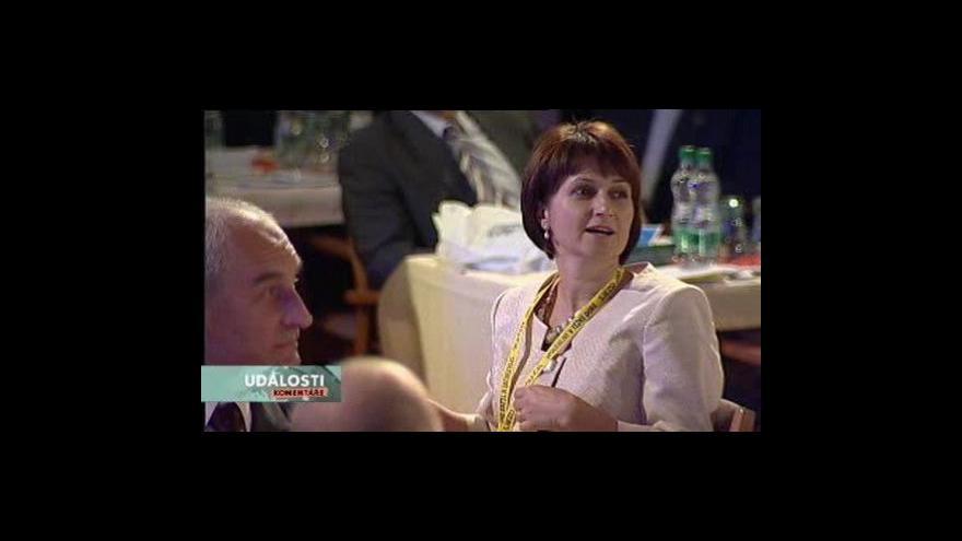 Video Události, komentáře o sjezdu lidovců