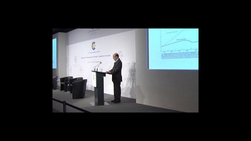 Video Bernanke na konferenci ve Frankfurtu