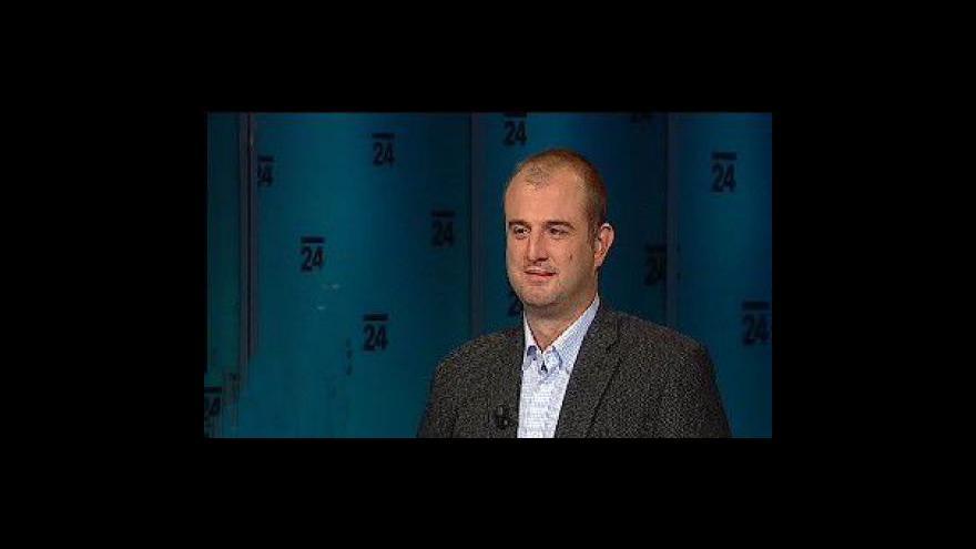 Video Novinář Jan Rybář hostem Událostí, komentářů