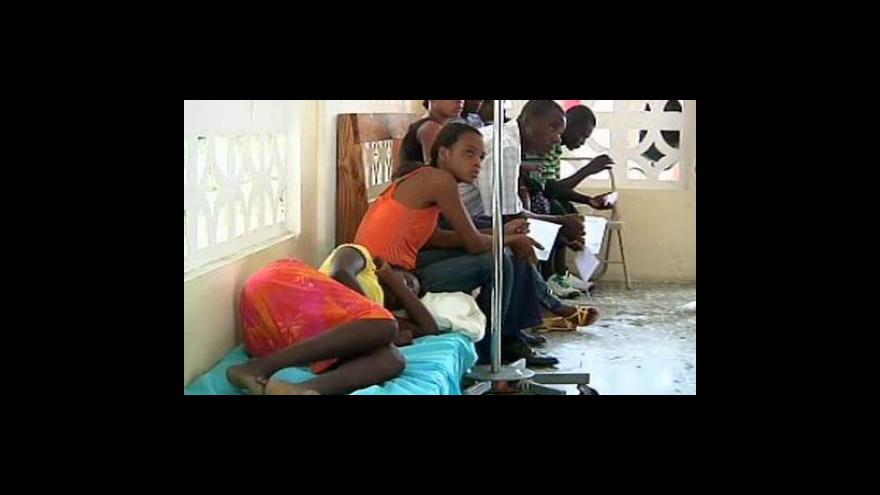 Video Cholera se rozšířila do Port-au-Prince