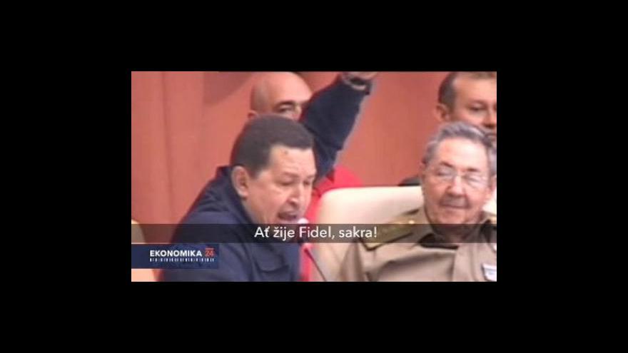 Video Kuba a Venezuela oslavily deset let trvající socialistickou alianci
