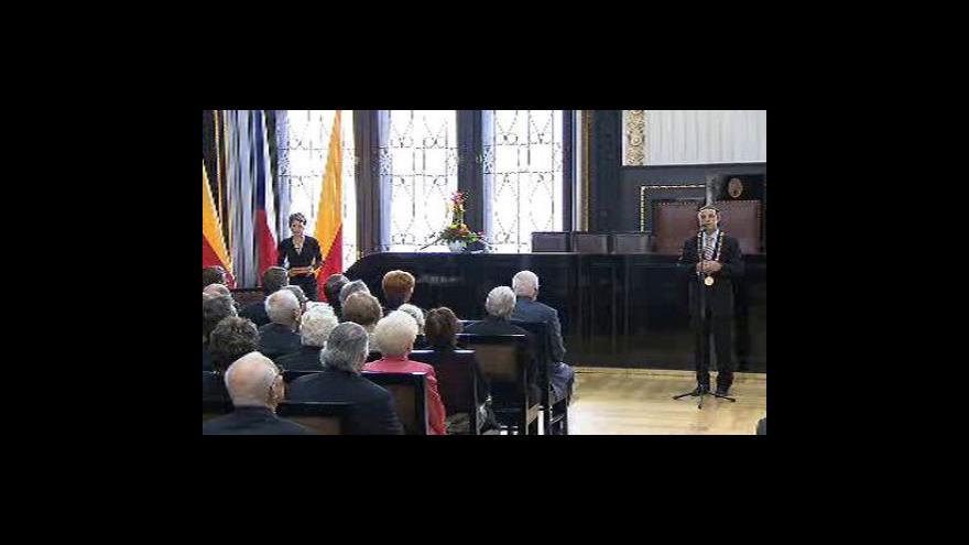 Video Setkání Pavla Béma s Václavem Klausem