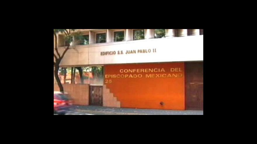 Video Mexické kostely z peněz mafie