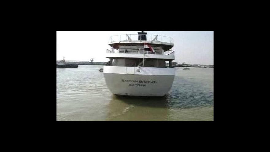 Video Saddámova jachta je na prodej