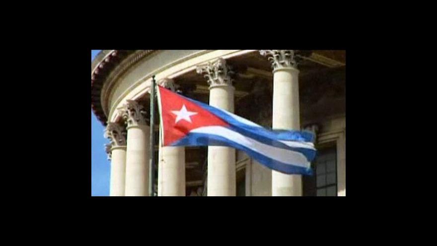 Video Kuba propustí další tři disidenty
