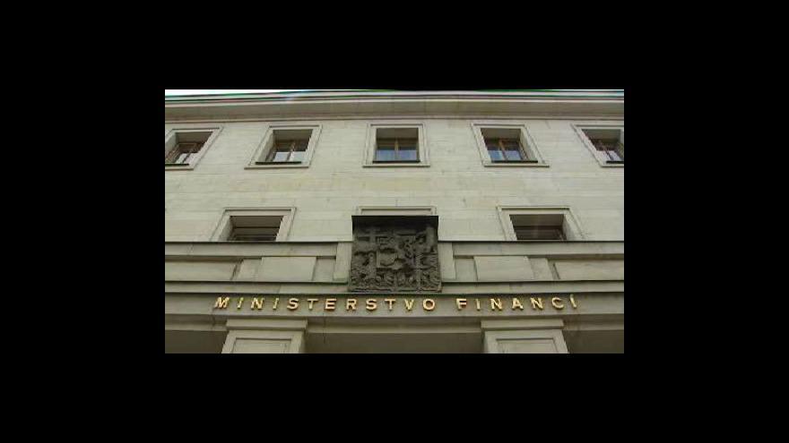Video Ministerstvo zpřesnilo odhad růstu ekonomiky