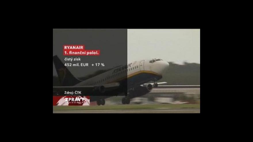 Video Zisk Ryaniaru