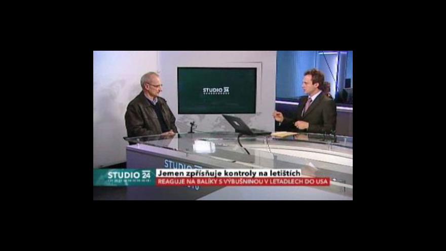 Video Studio ČT24 o opatřeních v Jemenu