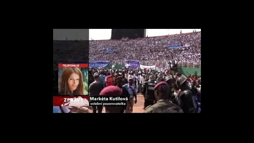 Video Telefonát Markéty Kutilové