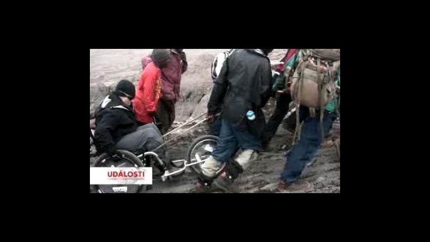 Video Na vrchol Kilimandžára na invalidním vozíku