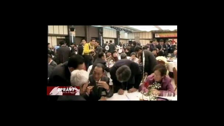 Video Setkání rodin z rozdělené Koreje