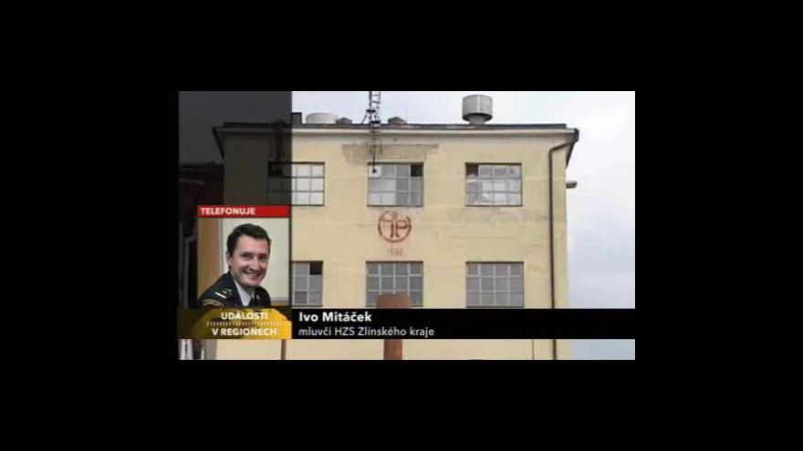 Video Mluvčí hasičů Ivo Mitáček o požáru