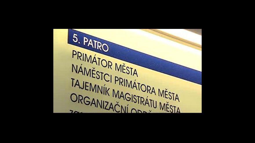 Video Povolební vyjednávání v Plzni