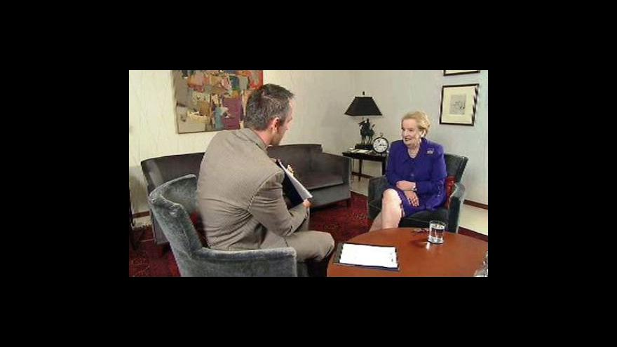 Video Rozhovor s Madeleine Albrightovou
