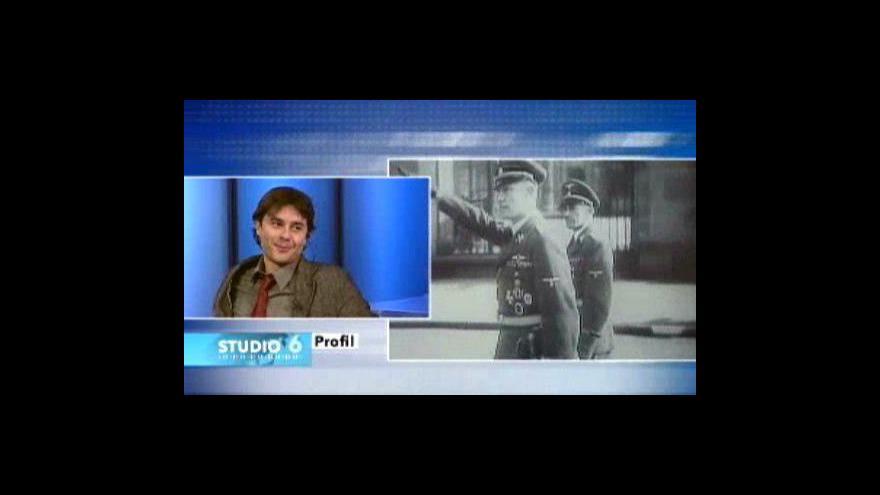 Video Laurent Binet hostem Studia6 ČT24