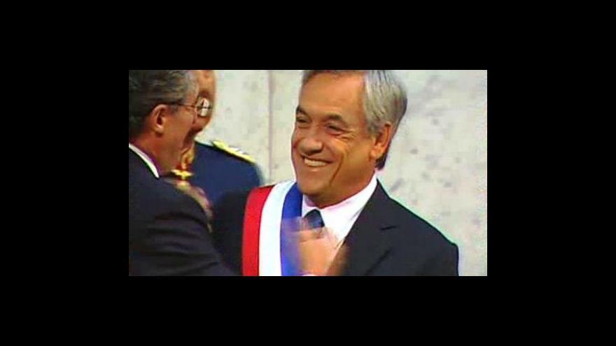 Video Chilští horníci povečeří s prezidentem