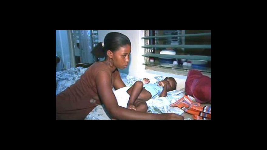 Video Haiti kosí epidemie cholery