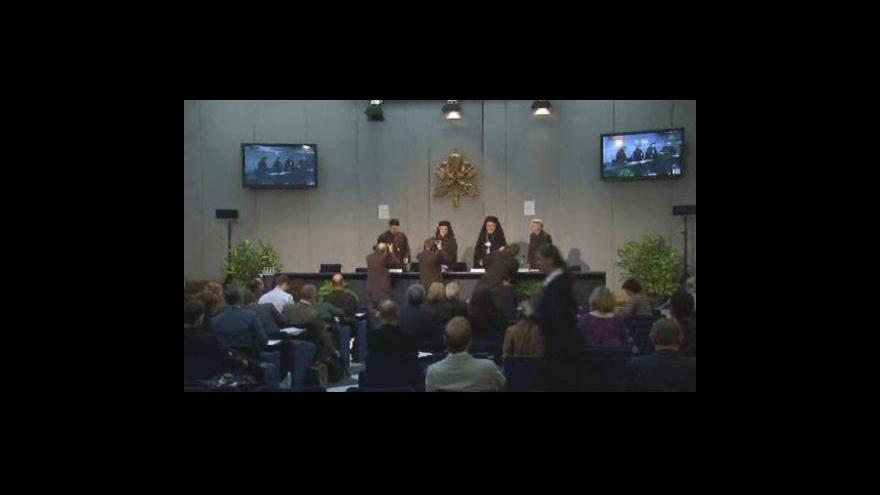 Video Závěry biskupského sněmu ve Vatikánu