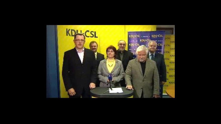 Video Brífink KDU-ČSL k senátním volbám