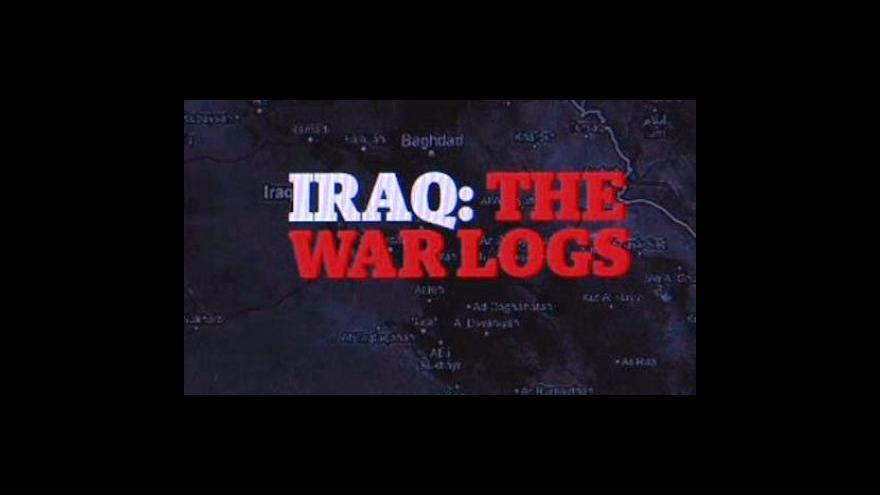 Video WikiLeaks zveřejnil tajné dokumenty o válce v Iráku