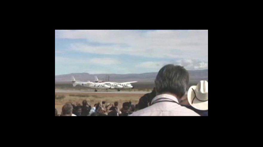 Video V Novém Mexiku otevřeli přistávací dráhu pro komerční lety do vesmíru