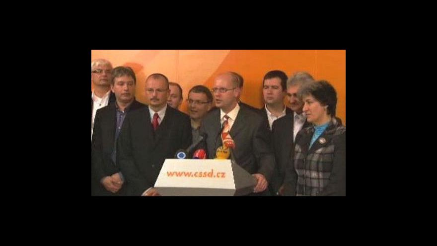 Video Senátní volby ovládla ČSSD