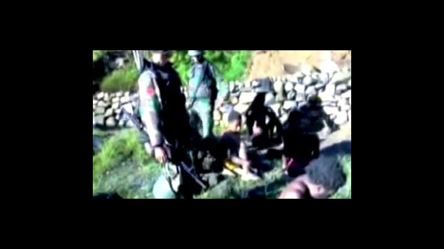 Video Indonéští vojáci mučí domorodé Papuánce