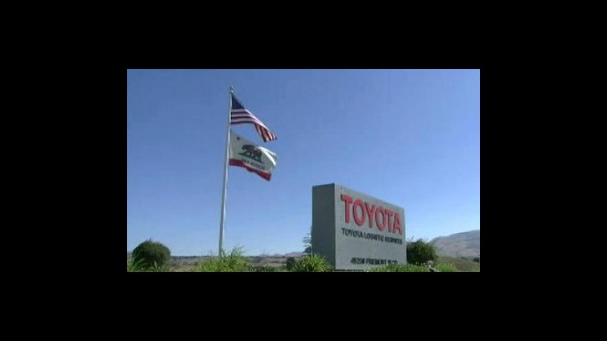 Video Toyota svolává k opravě dalších 1,5 milionu vozů