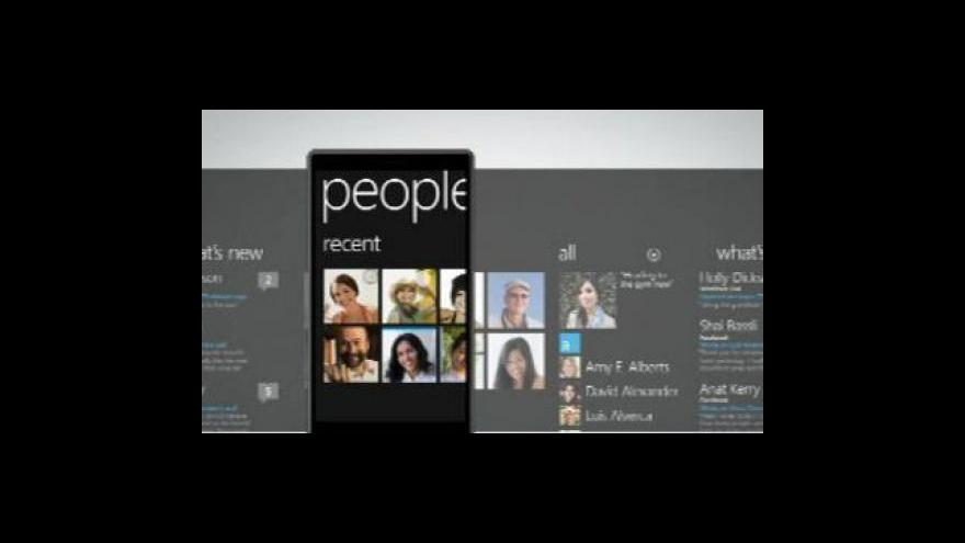 Video Microsoft přichází na trh s Windows Phone 7