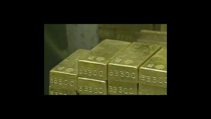 Video V Bulharsku ukradli 320 kilo zlata