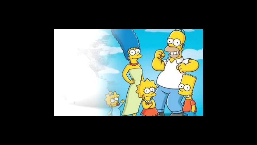 Video Simpsonovi dostali požehnání z Vatikánu