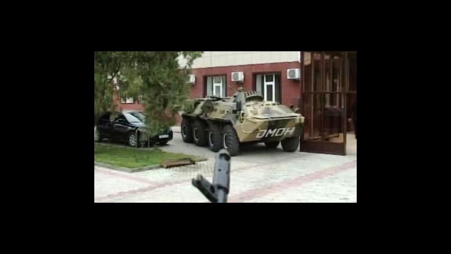 Video Nejméně šest mrtvých po útoku čečenských povstalců