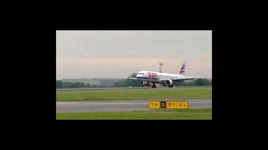 Video Hana Hejsková k zítřejší letové situaci