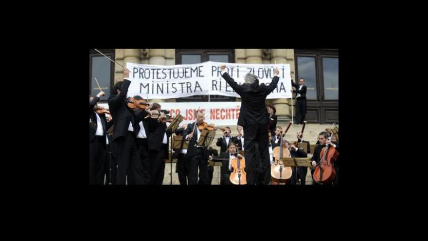 Video Česká filharmonie hledá ředitele