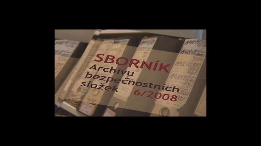Video Konkurz na ředitele Archivu bezpečnostních složek