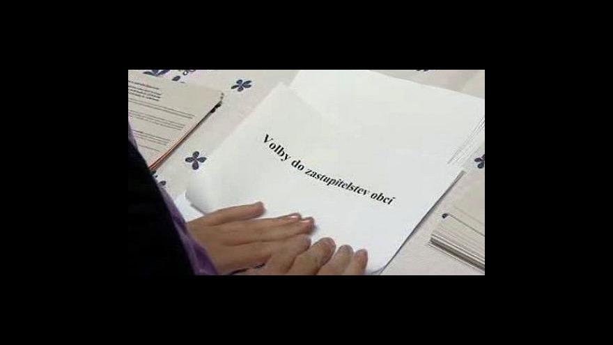 Video Dnes začínají komunální volby