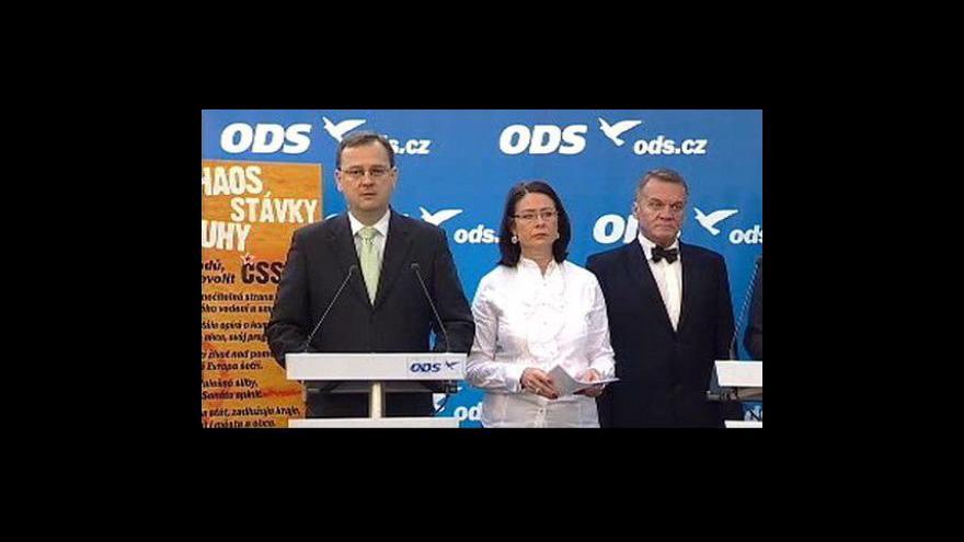 Video Brífink ODS
