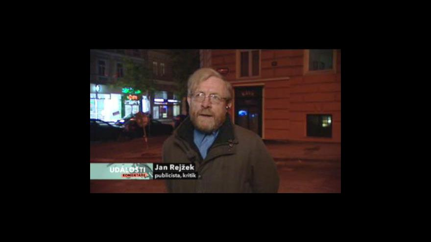 Video Rozhovor s Janem Rejžkem