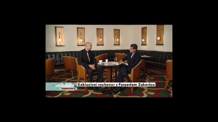 Video Rozhovor s Fareedem Zakariou