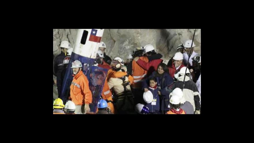 Video Chile oslavuje své hrdiny