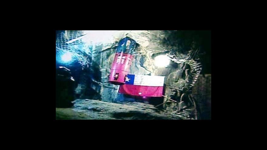 Video Události, komentáře - záchrana chilských horníků