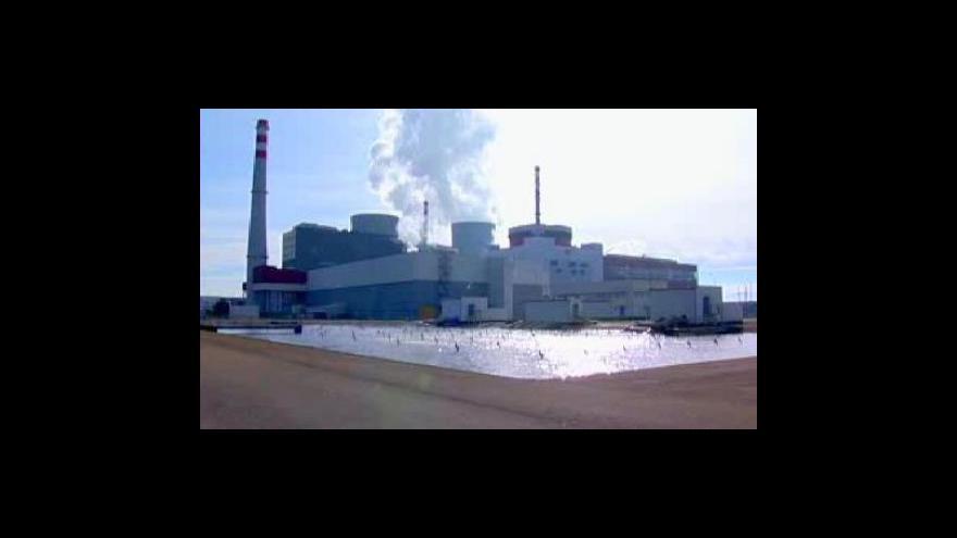Video ČEZ odkládá dostavbu Temelína